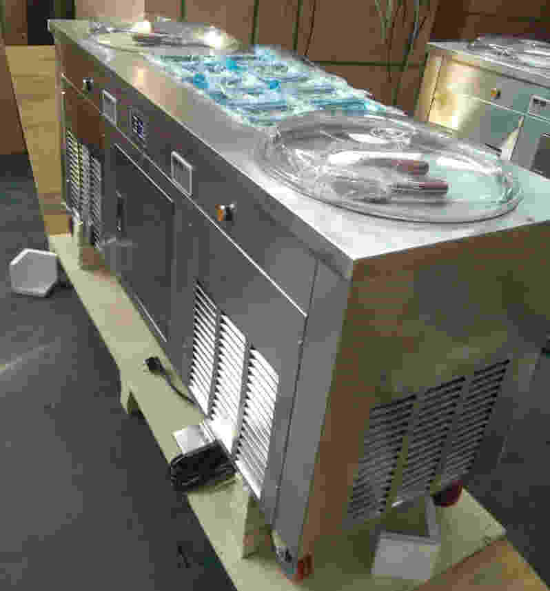 Double Pan Imported Roll Machine Hindchef Shopping